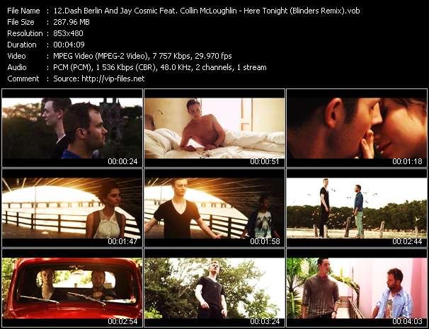 video Here Tonight (Blinders Remix) screen