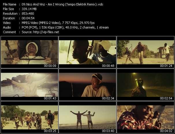 video Am I Wrong (Tempo Elektrik Remix) screen