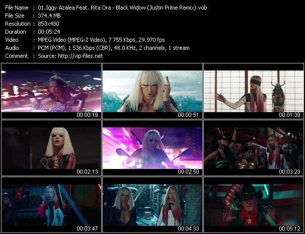 video Black Widow (Justin Prime Remix) screen