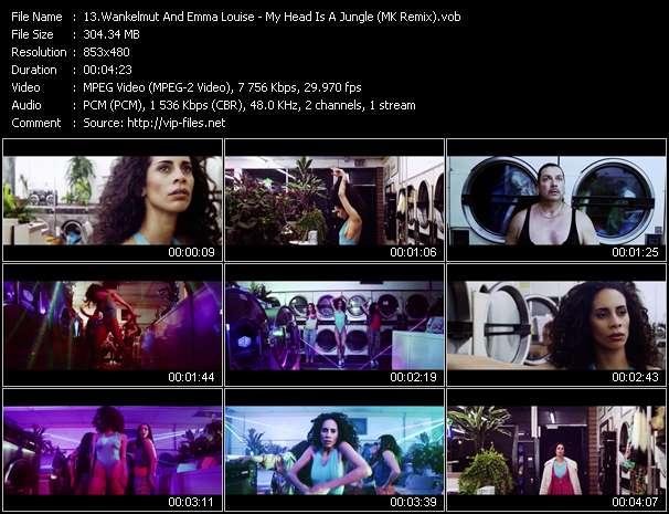 video My Head Is A Jungle (MK Remix) screen