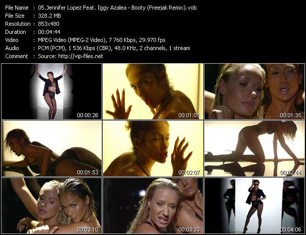 Jennifer Lopez Feat. Iggy Azalea video screenshot