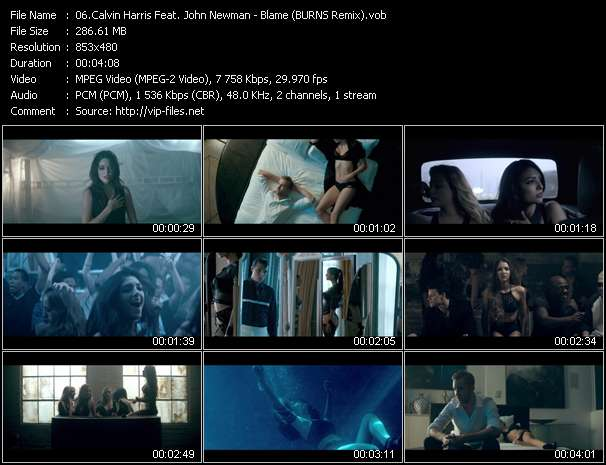 Calvin Harris Feat. John Newman video screenshot