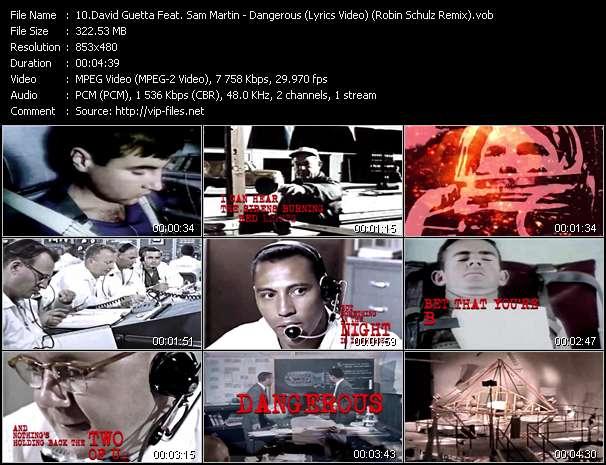 David Guetta Feat. Sam Martin video screenshot