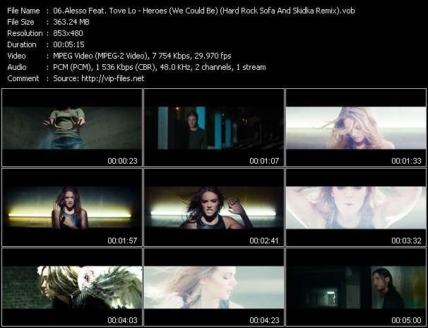 Alesso Feat. Tove Lo video screenshot