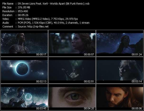 Seven Lions Feat. Kerli video screenshot