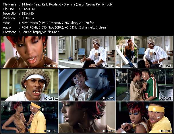 Nelly Feat. Kelly Rowland video screenshot