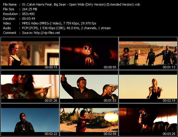 Calvin Harris Feat. Big Sean video screenshot