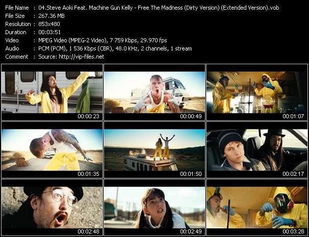 Steve Aoki Feat. Machine Gun Kelly video screenshot