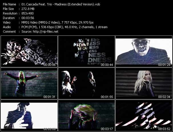 Cascada Feat. Tris video screenshot