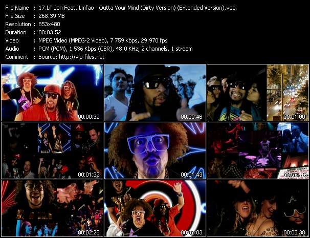 Lil' Jon Feat. Lmfao video screenshot