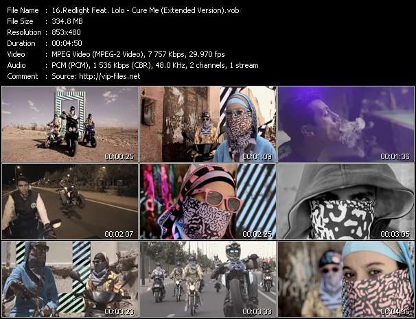 Redlight Feat. Lolo video screenshot