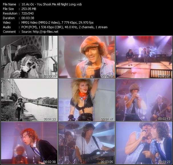 Ac-Dc video screenshot