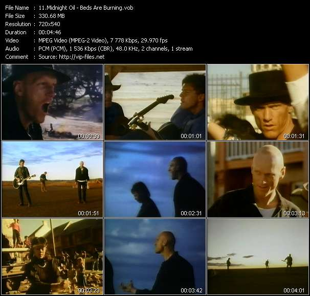 video Beds Are Burning screen