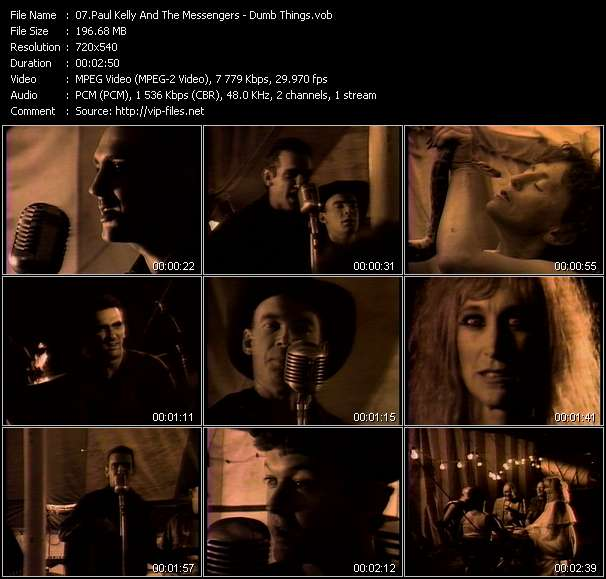 Paul Kelly And The Messengers video screenshot