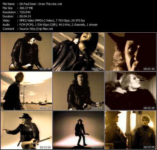 Paul Dean video screenshot