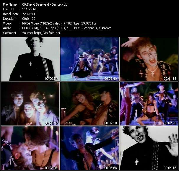 video Dance screen