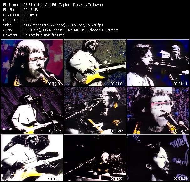 Elton John And Eric Clapton video screenshot