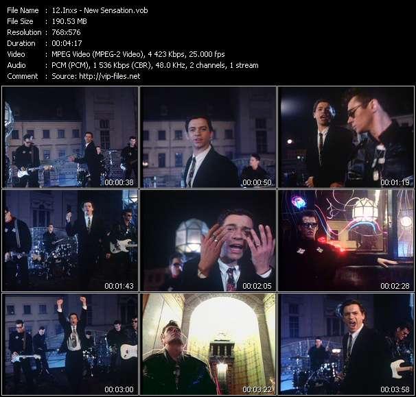 video New Sensation screen