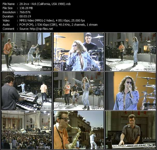 video Kick (California, USA 1988) screen