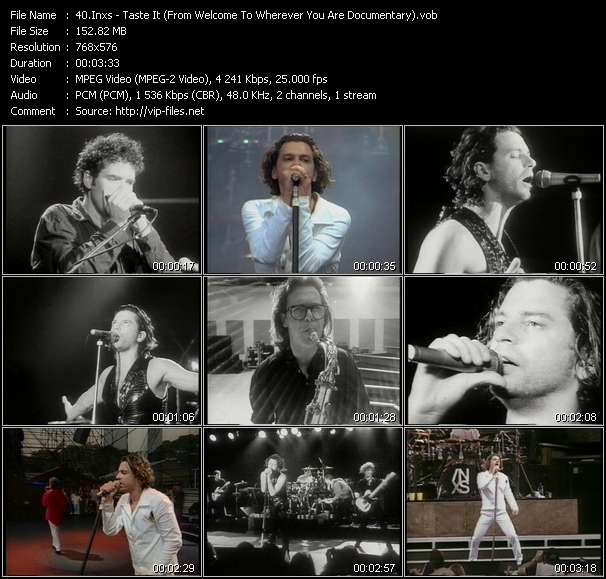 video Taste It (From Welcome To Wherever You Are Documentary) screen