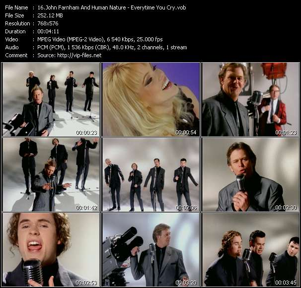 John Farnham And Human Nature video screenshot