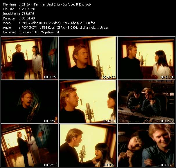 John Farnham And Chiu video screenshot