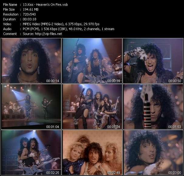 Kiss video screenshot