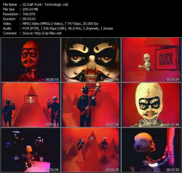 Daft Punk video screenshot