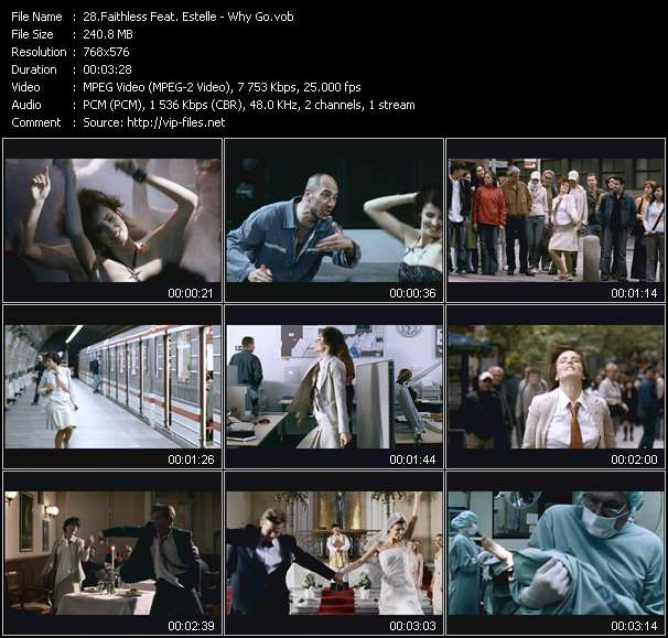 Faithless Feat. Estelle video screenshot
