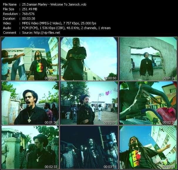 Damian Marley video screenshot