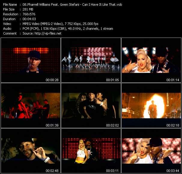 Pharrell Williams Feat. Gwen Stefani video screenshot