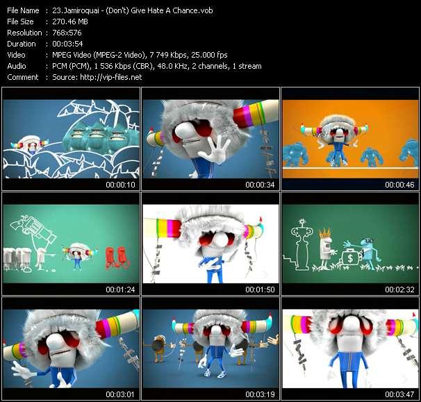 Jamiroquai video screenshot