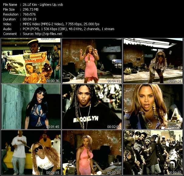 Lil' Kim video screenshot