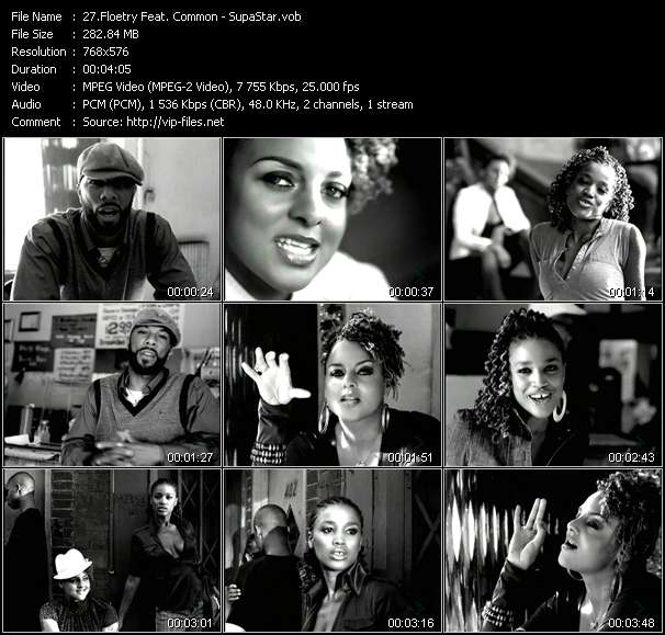Floetry Feat. Common video screenshot
