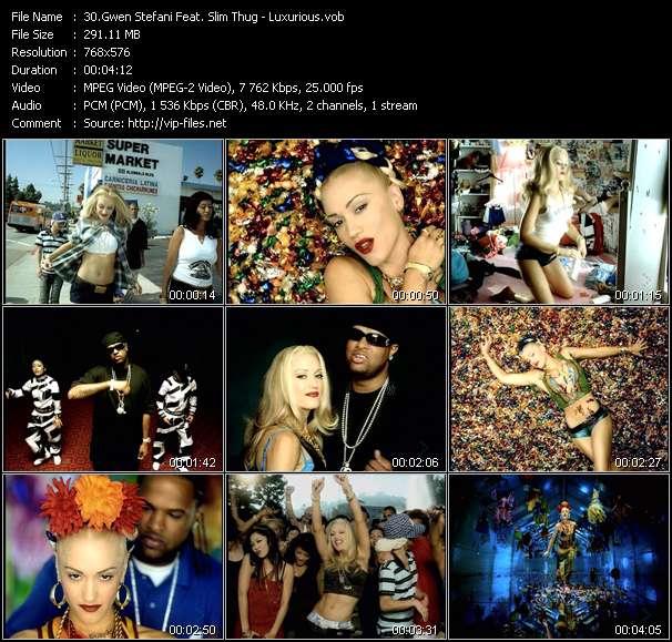 Gwen Stefani Feat. Slim Thug video screenshot