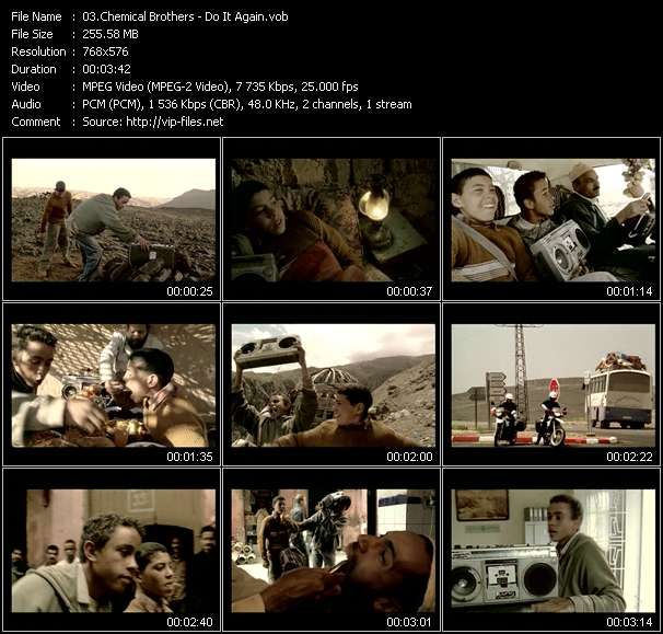 Chemical Brothers video screenshot