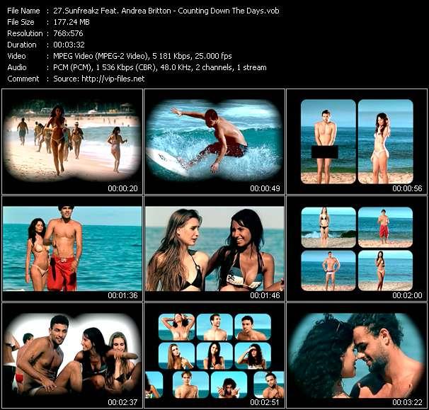 Sunfreakz Feat. Andrea Britton video screenshot