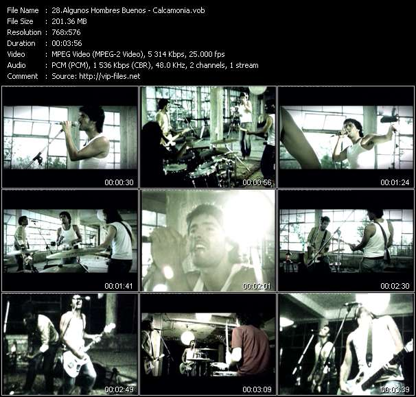 Algunos Hombres Buenos video screenshot