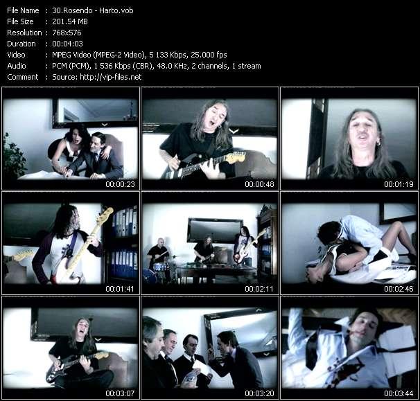 Rosendo video screenshot