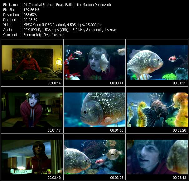 Chemical Brothers Feat. Fatlip video screenshot