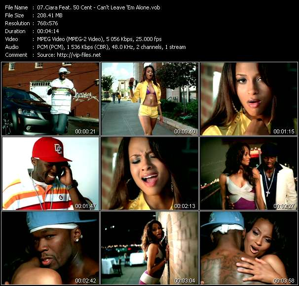 Ciara Feat. 50 Cent video screenshot