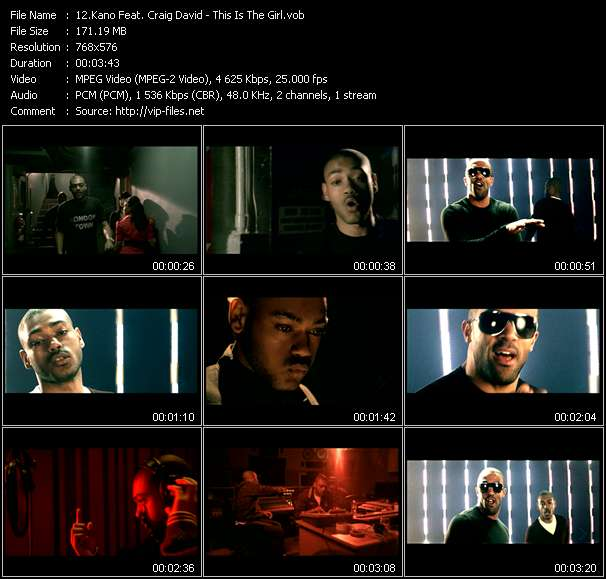 Kano Feat. Craig David video screenshot