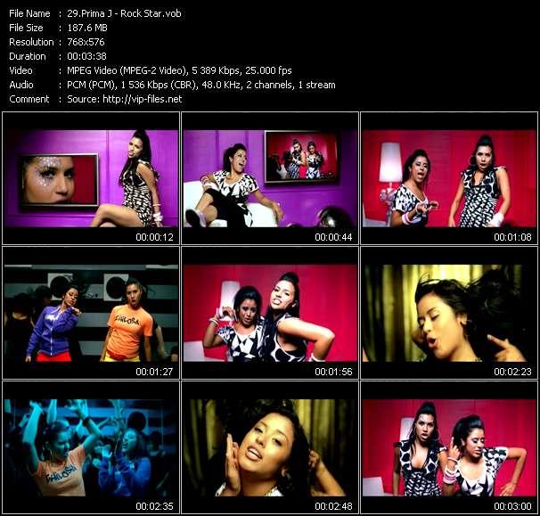 Prima J video screenshot