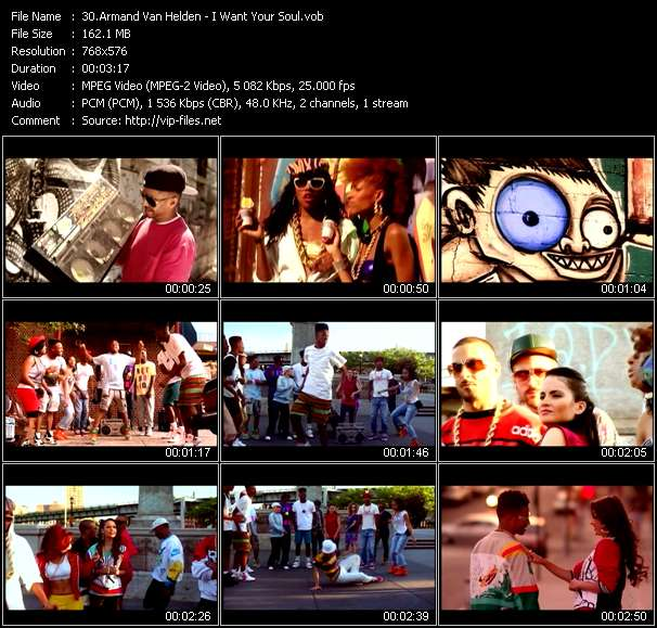 Armand Van Helden video screenshot