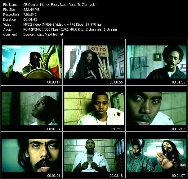 Damian Marley Feat. Nas video screenshot