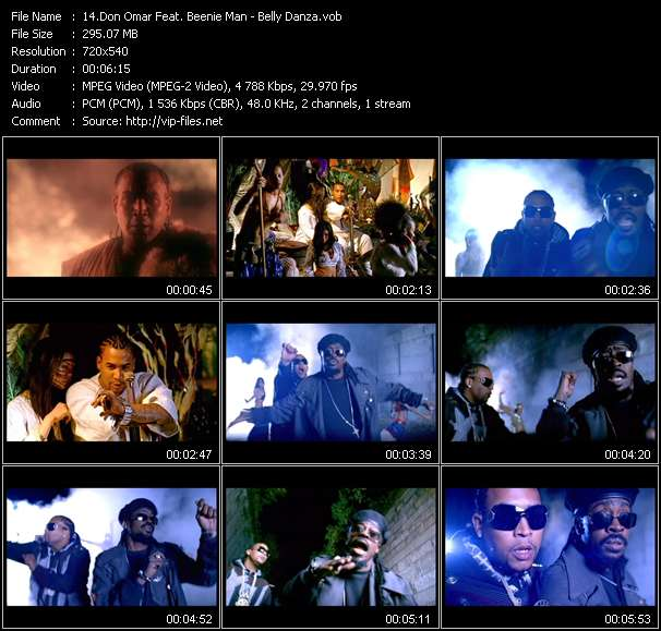 Don Omar Feat. Beenie Man video screenshot