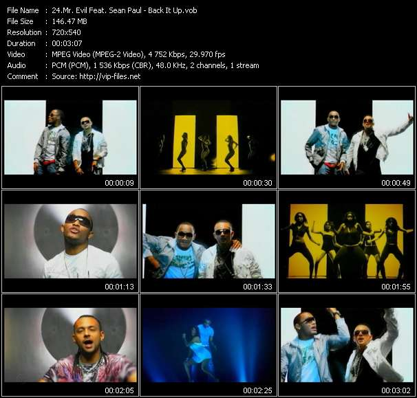 Mr. Evil Feat. Sean Paul video screenshot