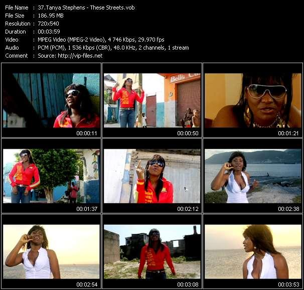 Tanya Stephens video screenshot