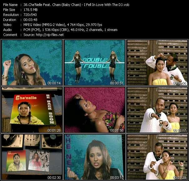 Che'Nelle Feat. Cham (Baby Cham) video screenshot
