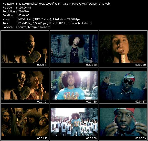 Kevin Michael Feat. Wyclef Jean video screenshot